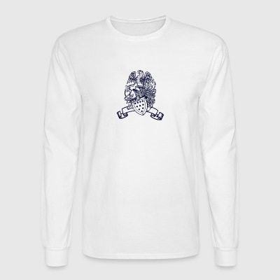 Eagle and shield - Men's Long Sleeve T-Shirt