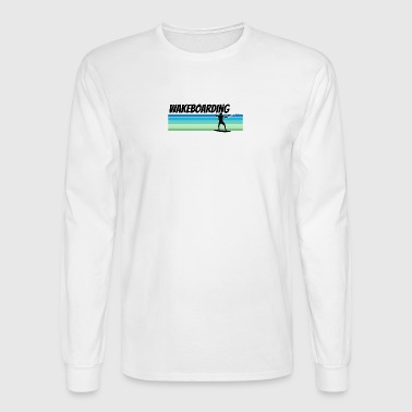 Retro Wakeboarding - Men's Long Sleeve T-Shirt