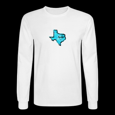 Austin - Men's Long Sleeve T-Shirt