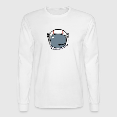 Astronaut Helmet - Men's Long Sleeve T-Shirt