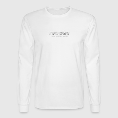 Unfauxcast Podcast Official Logo - Men's Long Sleeve T-Shirt