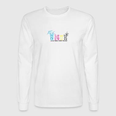 CMYK - Men's Long Sleeve T-Shirt