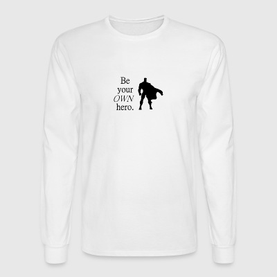 Hero - Men's Long Sleeve T-Shirt