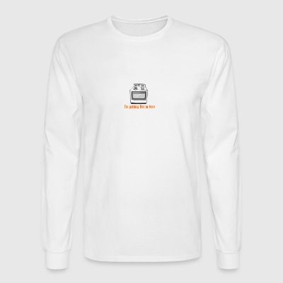 itsgettinghot - Men's Long Sleeve T-Shirt