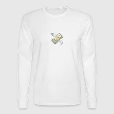 Flying dollar - Men's Long Sleeve T-Shirt