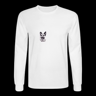 German Shepherd Tshirt - Men's Long Sleeve T-Shirt