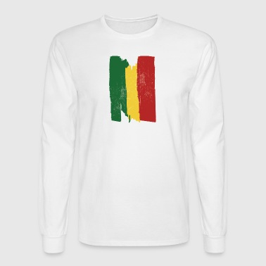 Ethiopian flag - Men's Long Sleeve T-Shirt