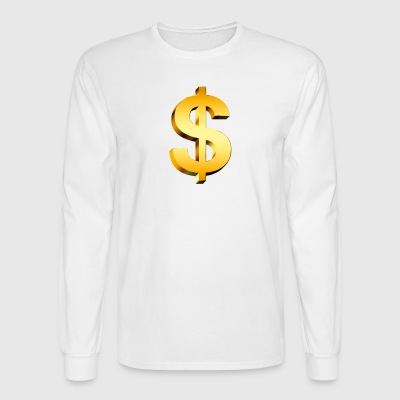 PNGPIX COM Dollar Sign PNG Image - Men's Long Sleeve T-Shirt