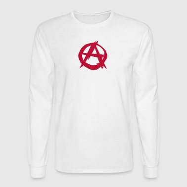 Anarchy anarchist punk - Men's Long Sleeve T-Shirt