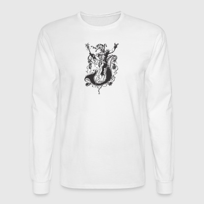 Evil medieval CLOWN - Men's Long Sleeve T-Shirt