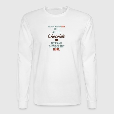 chocolate - Men's Long Sleeve T-Shirt