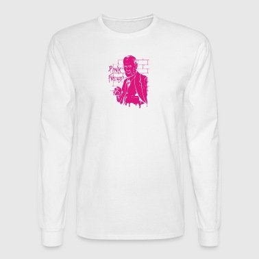 pink freud - Men's Long Sleeve T-Shirt