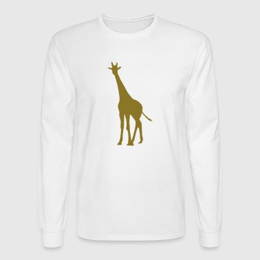 giraffe - Men's Long Sleeve T-Shirt