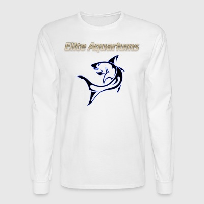 Elite Aquariums Shark - Men's Long Sleeve T-Shirt