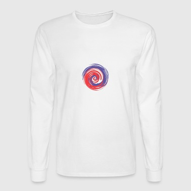 swirl of wisdom - Men's Long Sleeve T-Shirt