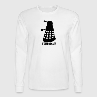 Exterminate - Men's Long Sleeve T-Shirt