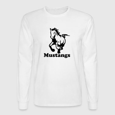 stallions - Men's Long Sleeve T-Shirt