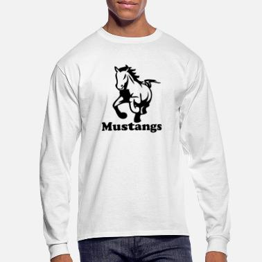 Stallion stallions - Men's Long Sleeve T-Shirt