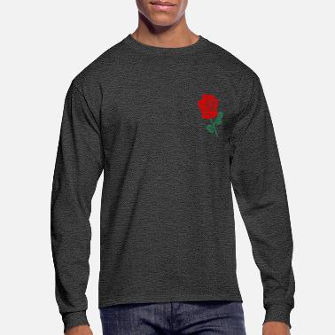 Rose red rose - Men's Long Sleeve T-Shirt