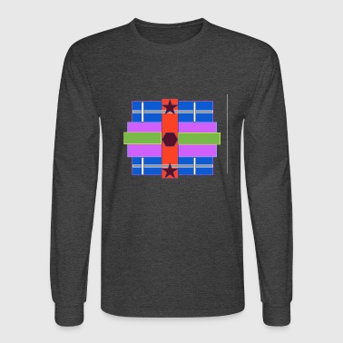 Symbols & Shapes Shapes - Men's Long Sleeve T-Shirt