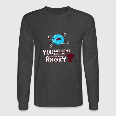 Angry - Men's Long Sleeve T-Shirt