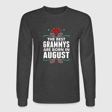 The Best Grammys Are Born In August - Men's Long Sleeve T-Shirt