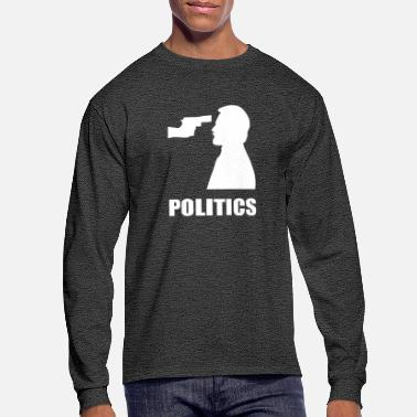 Politics POLITICS - Men's Long Sleeve T-Shirt
