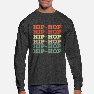 Rapper Hip Hop Vintage Style - Men's Longsleeve Shirt
