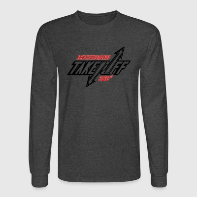 TakeOff-Skateboard360 - Men's Long Sleeve T-Shirt
