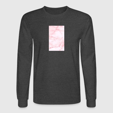 Pink marble - Men's Long Sleeve T-Shirt