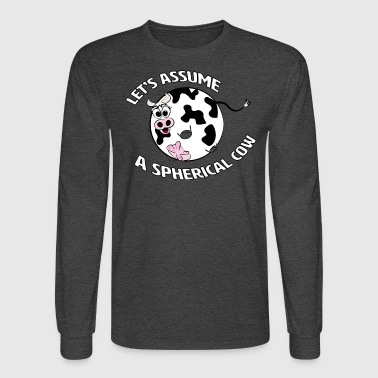 A Spherical Cow in a Vacuum - Men's Long Sleeve T-Shirt