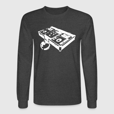 DJ Turntable - Men's Long Sleeve T-Shirt