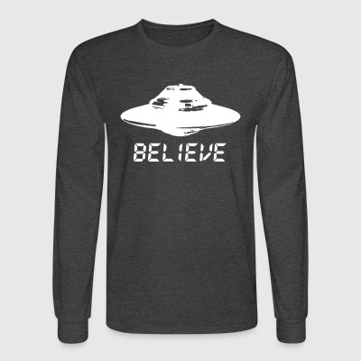 Ufo Believe - Men's Long Sleeve T-Shirt
