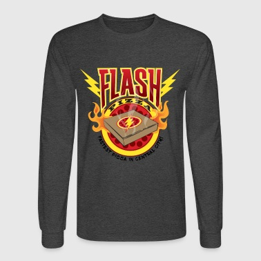 Flash Pizza Central City - Men's Long Sleeve T-Shirt