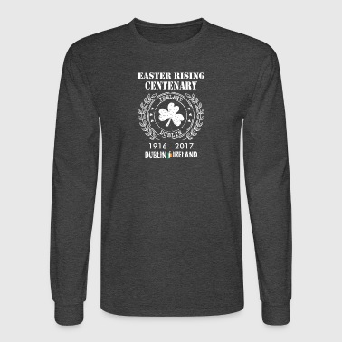 Shop centenary gifts online spreadshirt easter rising centenary 1916 2017 dublin ireland mens long sleeve t shirt negle Images
