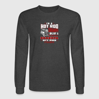 Hot Rod Grandpas Tee Shirt - Men's Long Sleeve T-Shirt