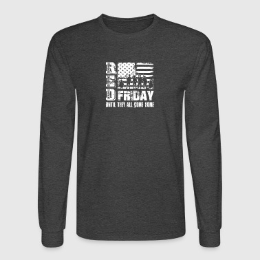 Red Friday Tee Shirts - Men's Long Sleeve T-Shirt