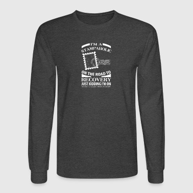 I'm A Stampaholic On The Road To Discovery - Men's Long Sleeve T-Shirt