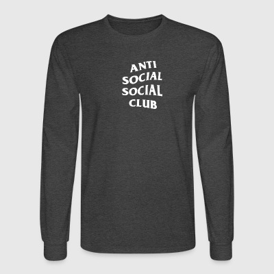 Anti Social Club - Men's Long Sleeve T-Shirt
