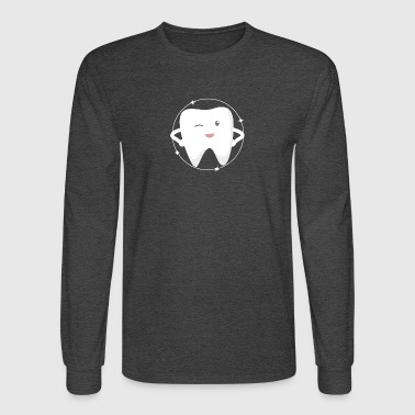 tooth lover - Men's Long Sleeve T-Shirt
