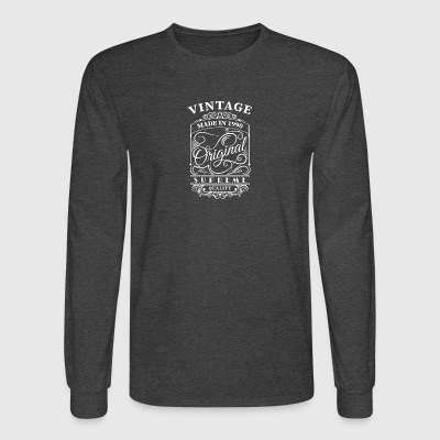 Vintage made in 1990 - Men's Long Sleeve T-Shirt