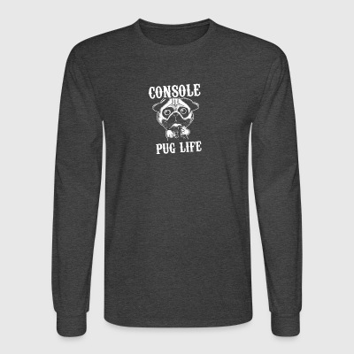 Console Pug life - Men's Long Sleeve T-Shirt