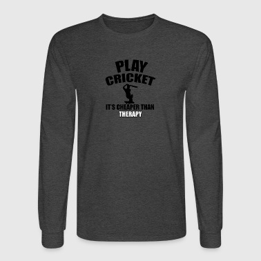 cricket design - Men's Long Sleeve T-Shirt
