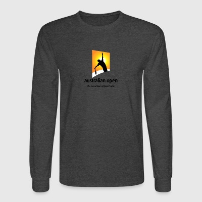 AUSTRALIA OPEN LOGO 2 - Men's Long Sleeve T-Shirt