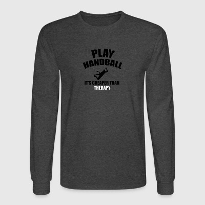 handball designs - Men's Long Sleeve T-Shirt
