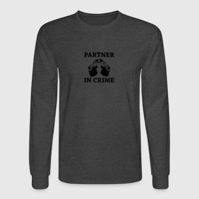 Partner in crime - Men's Long Sleeve T-Shirt