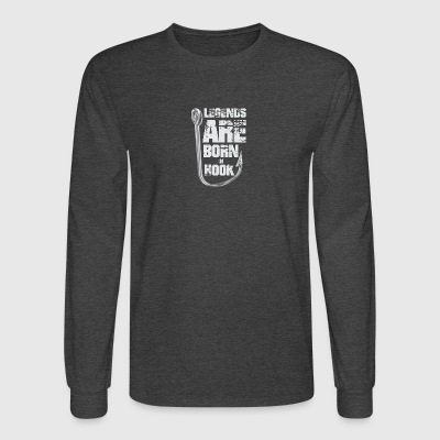 Legends Are Born in HOOK - Men's Long Sleeve T-Shirt