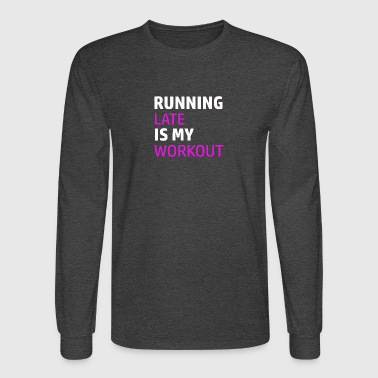 Funny workout designs - Men's Long Sleeve T-Shirt