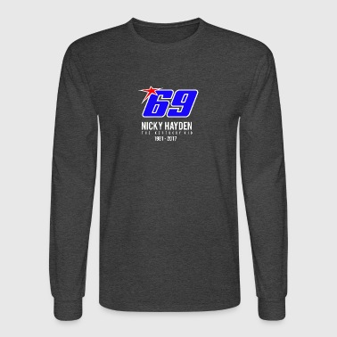 nicky Hayden RIP - Men's Long Sleeve T-Shirt