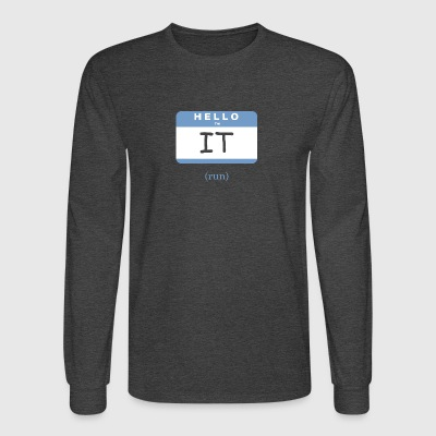 Tag - Men's Long Sleeve T-Shirt